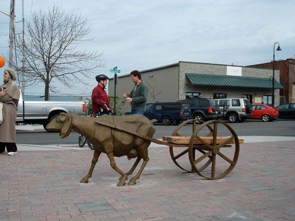 Wooden Goat Carts Goat Cart Renaissance Pinterest