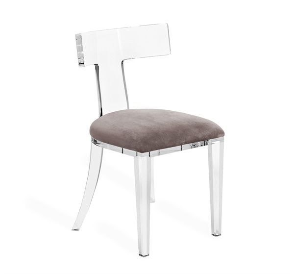 Modern Lucite Klismos Chair 1579 Acrylic Dining Chairs