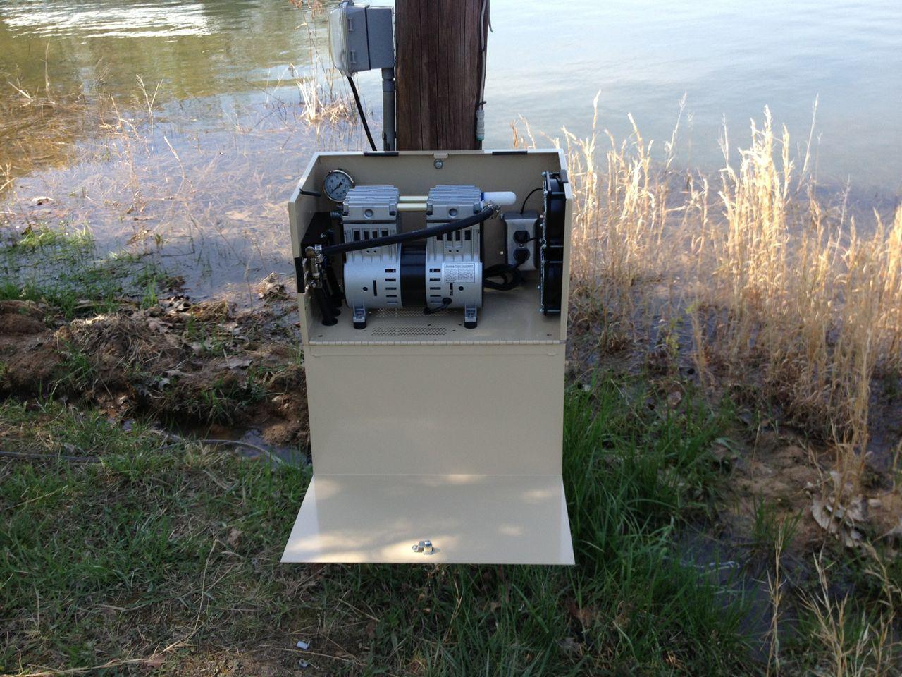 Deep Pond Electric Aerators Aermaster Pro Series Deep Pond Aeration Aerator Pond Pond Aerator