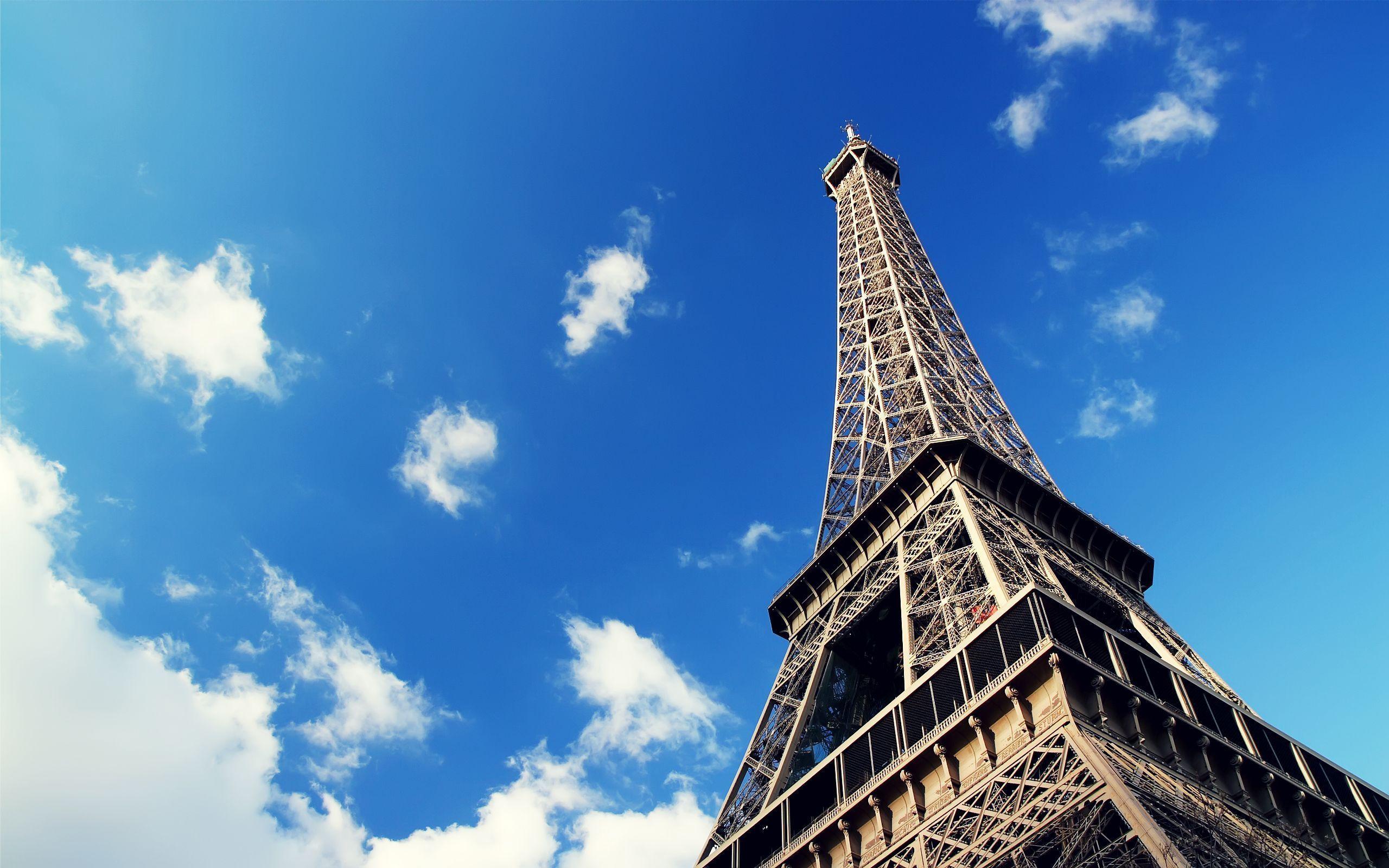 eiffel tower paris wallpaper hd desktop background travel