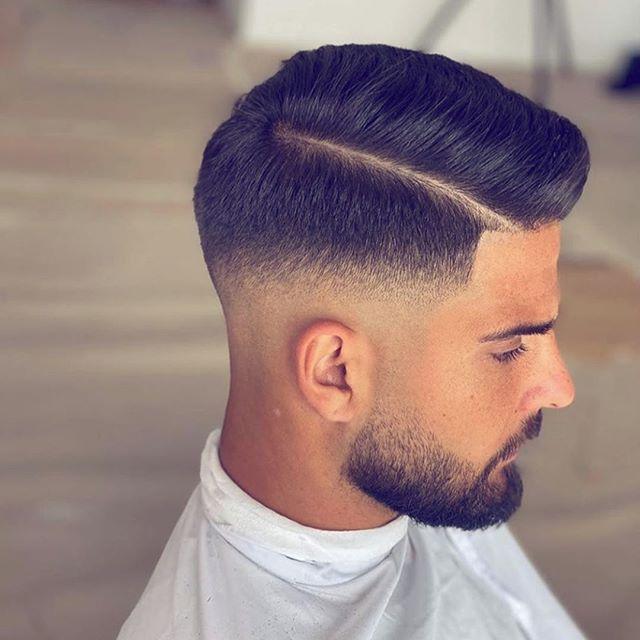 76 Popularste Manner Frisuren Ideen In 2020 Faded Hair Gentleman Haircut Mens Hairstyles