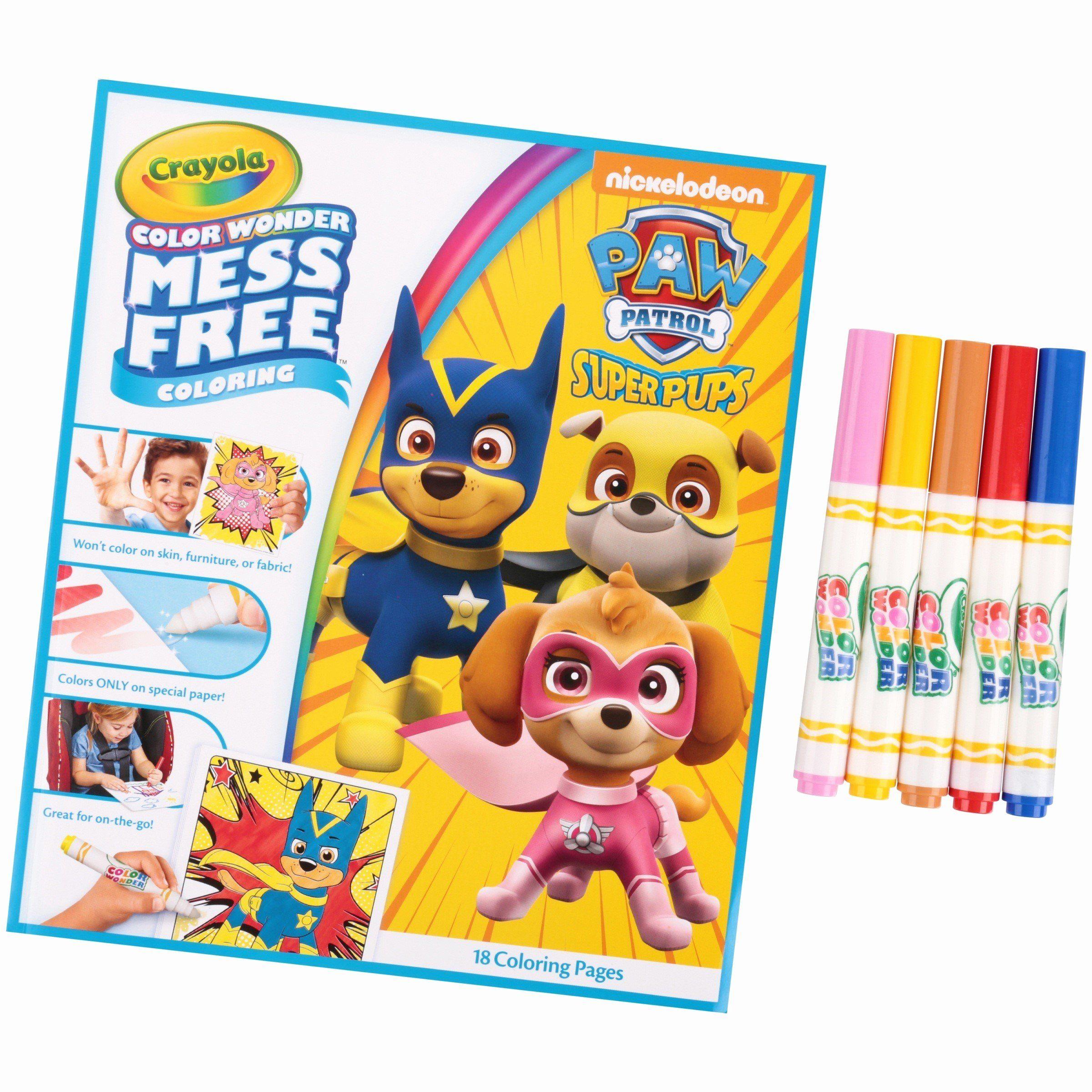 Crayola Mess Free Coloring Luxury Crayola Color Wonder 30