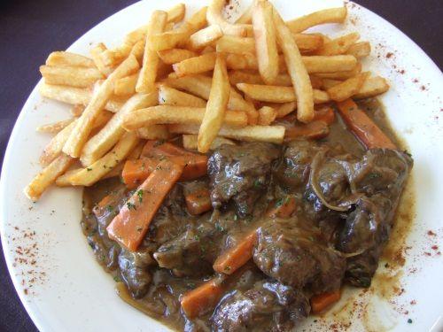 Carbonnades Flamandes Flemish Stew Belgian Food Big Chunks