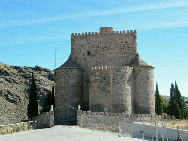 Castillo de g rgal este castillo s xiii xiv est for Juzgado de guadix