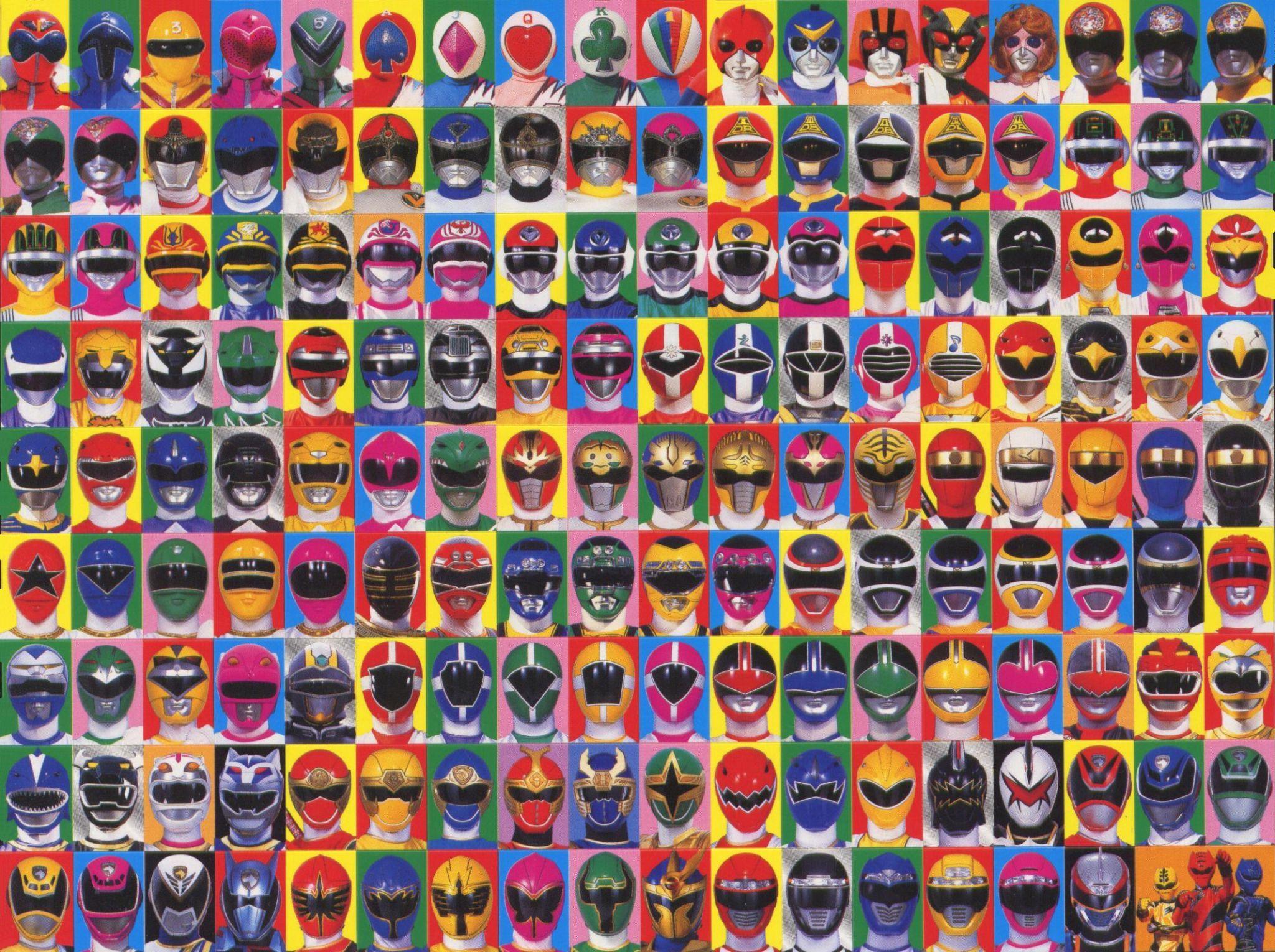 Masques de sentais toei corporation inventaires - Masque de power rangers ...