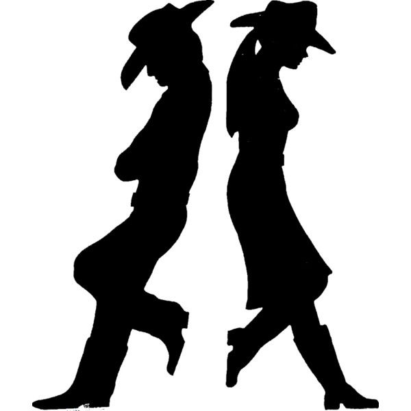 Western By Tao 53 Png Silhouette Silhouette Art Western Theme Party