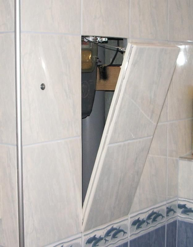 F3 access panels for tile applications by ff systems - Tiling a bathroom wall on drywall ...
