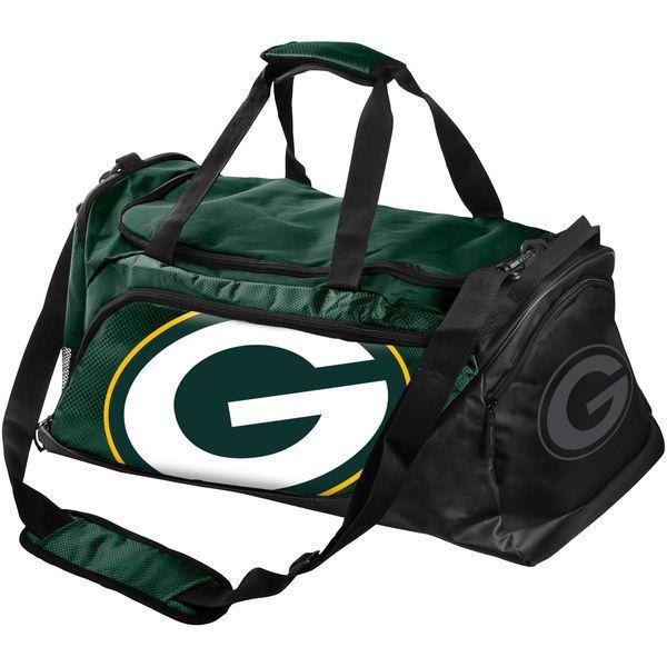 8e0319bb5865 NFL Green Bay Packers Medium Locker Room Duffle Bag - Green   ForeverCollectibles  GreenBayPackers