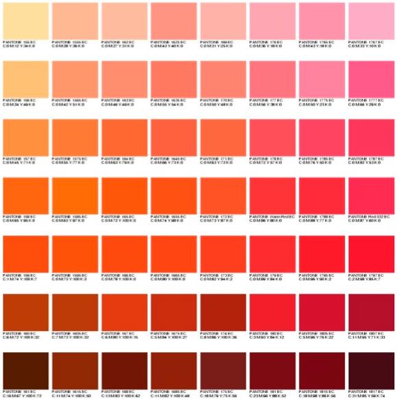 r sultat de recherche d 39 images pour nuancier orange corporate pinterest nuance couleur. Black Bedroom Furniture Sets. Home Design Ideas