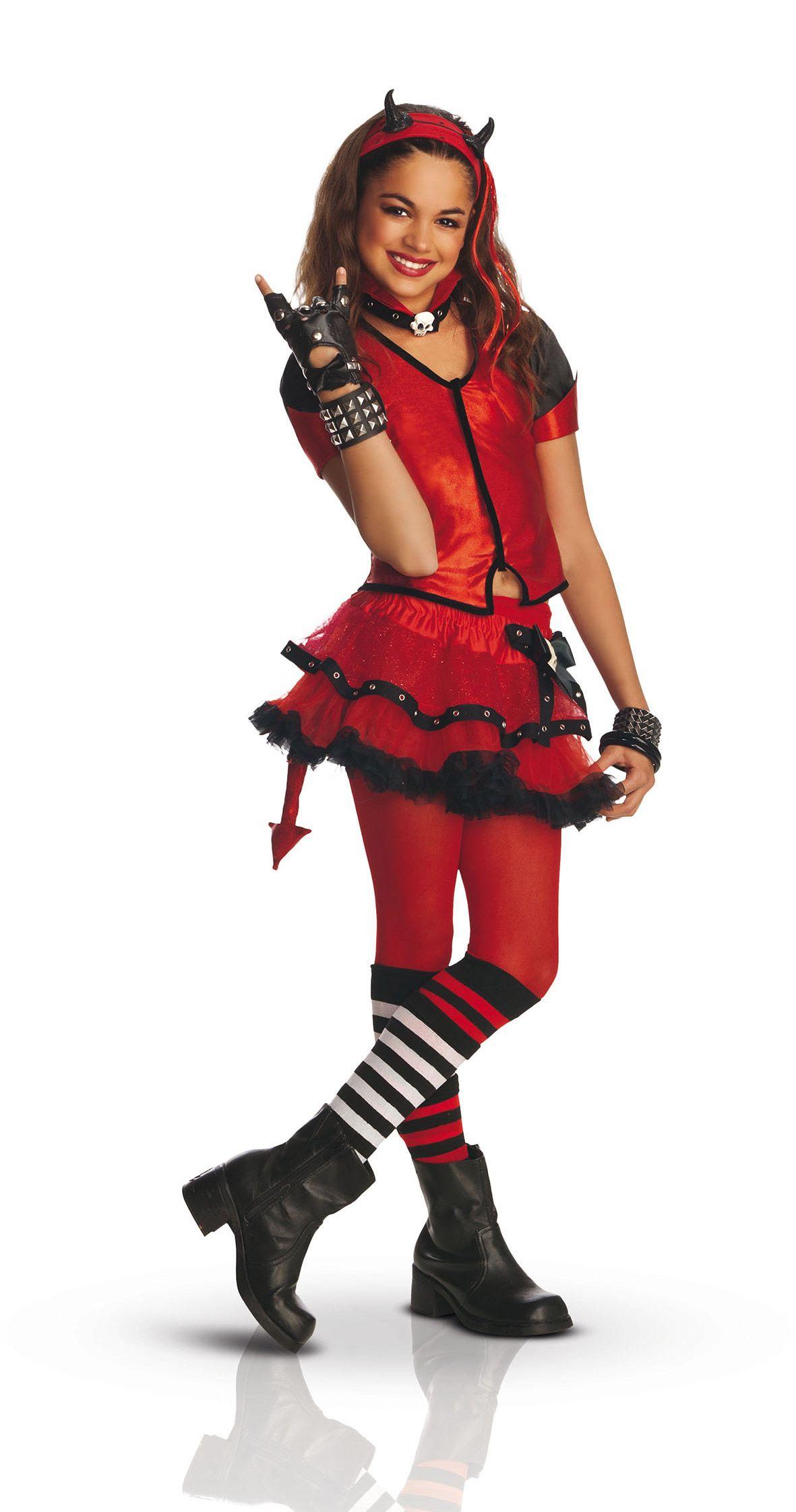 Disfraz gótico de demonio Helzebet para niña   Vegaoo c30171598945