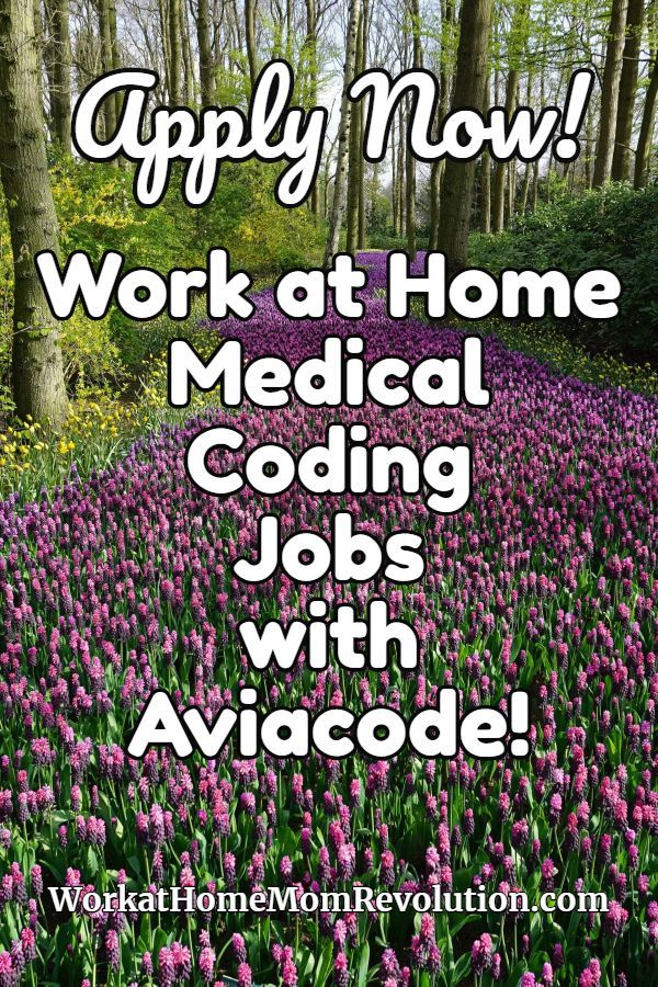 Medical Coding Jobs With Aviacode Work At Home Opportunities Work