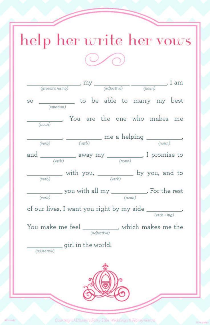 Impertinent image inside bridal shower mad libs free printable