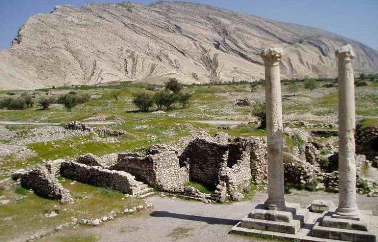 Ancient City Bishabur-Kazerun-Fars Province Iran
