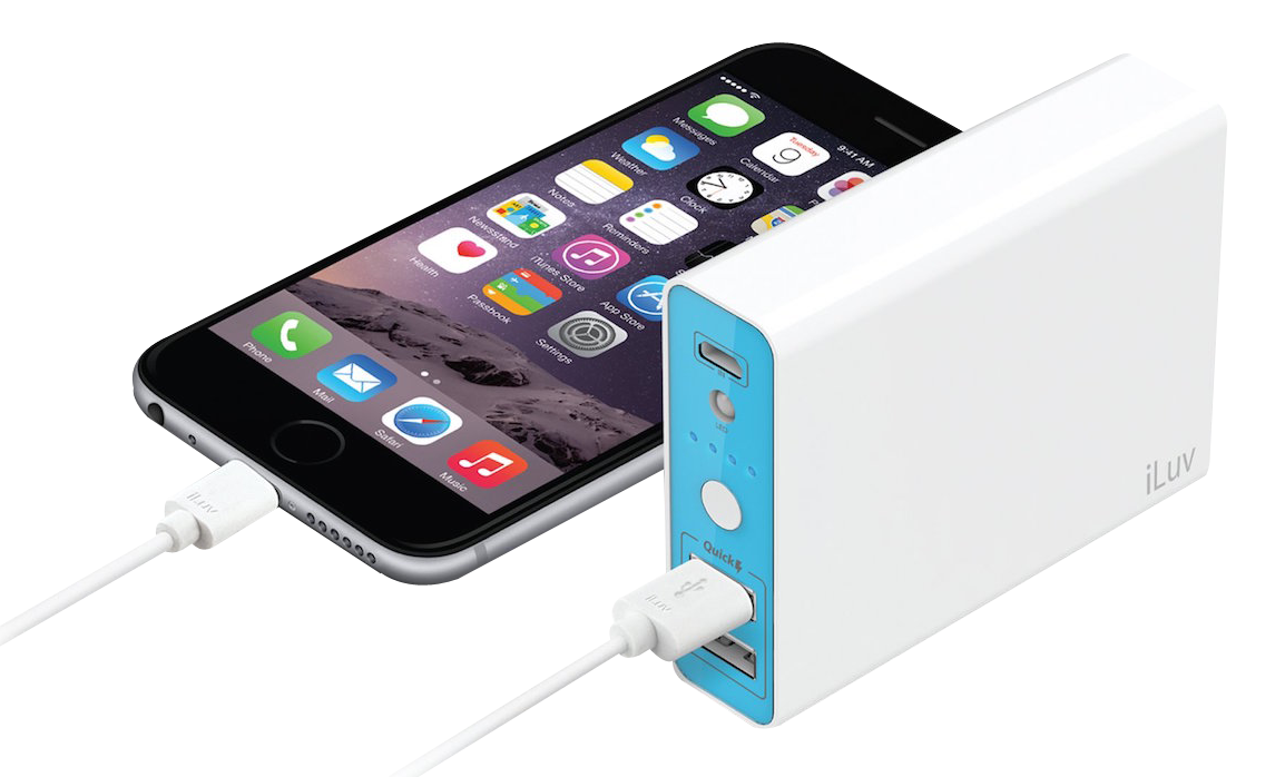 Iphone Power Bank Charger Png Image Power Bank Charger Powerbank Charger