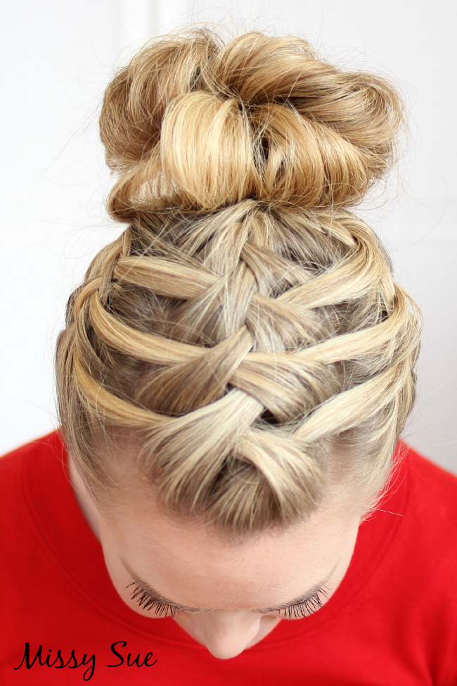 French Braid Hairstyles Simple Triplefrenchbraiddoublewaterfall Bewitching Beauty