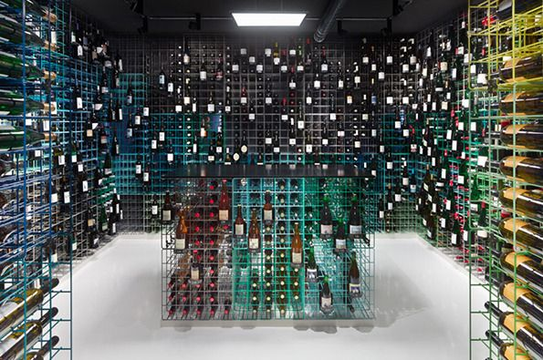 Weinhandlung Kreis Wine Shop Stuttgart, Germany Designed by Furch Gestaltung + Produktion