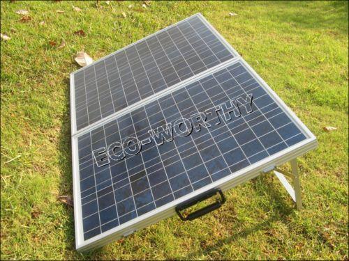 Folding Solar Panels For Motorhomes