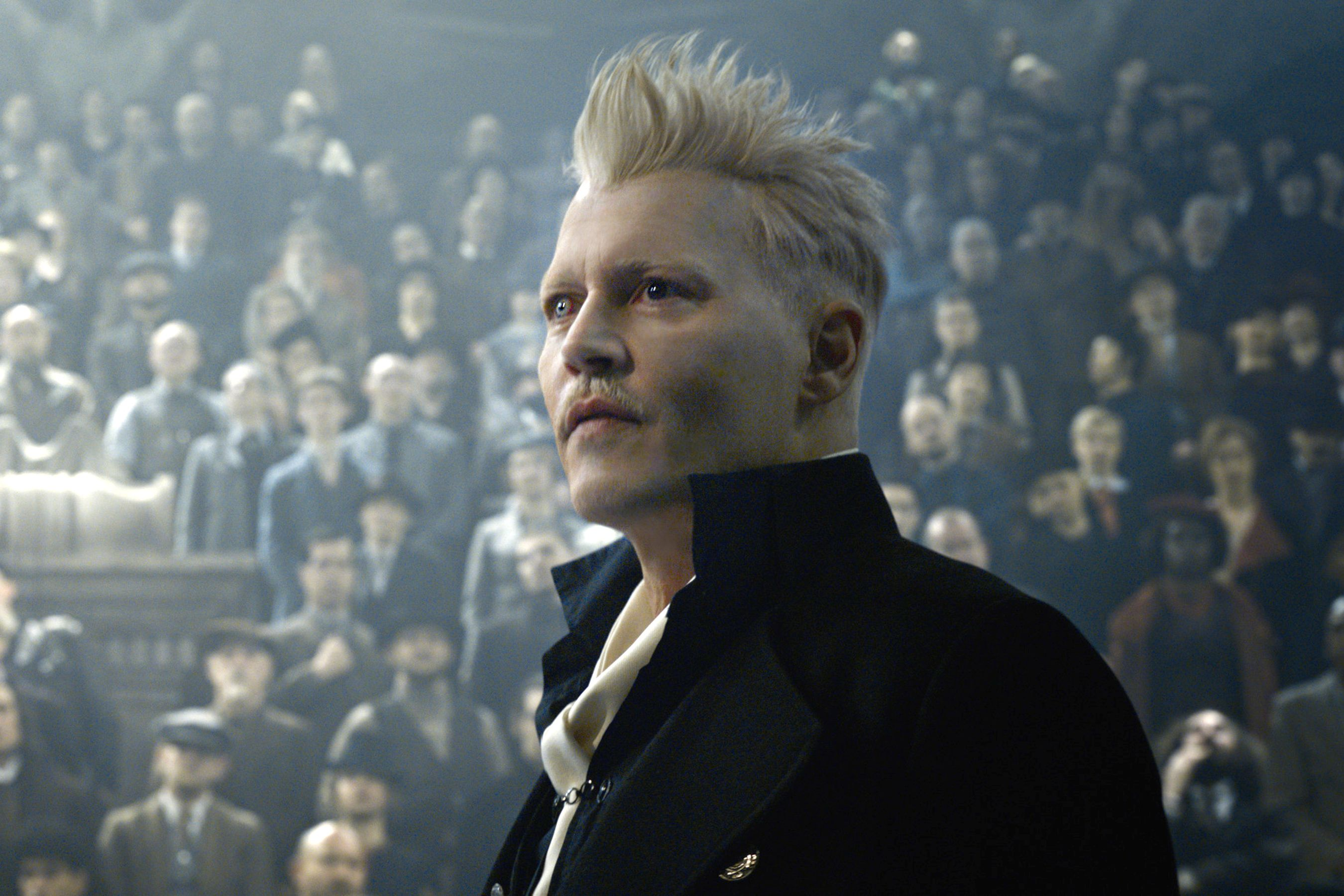 Here Are 38 Fantastic Beasts Sequel Photos That Reveal Clues About The Film Johnny Depp Johnny Depp Roles Fantastic Beasts