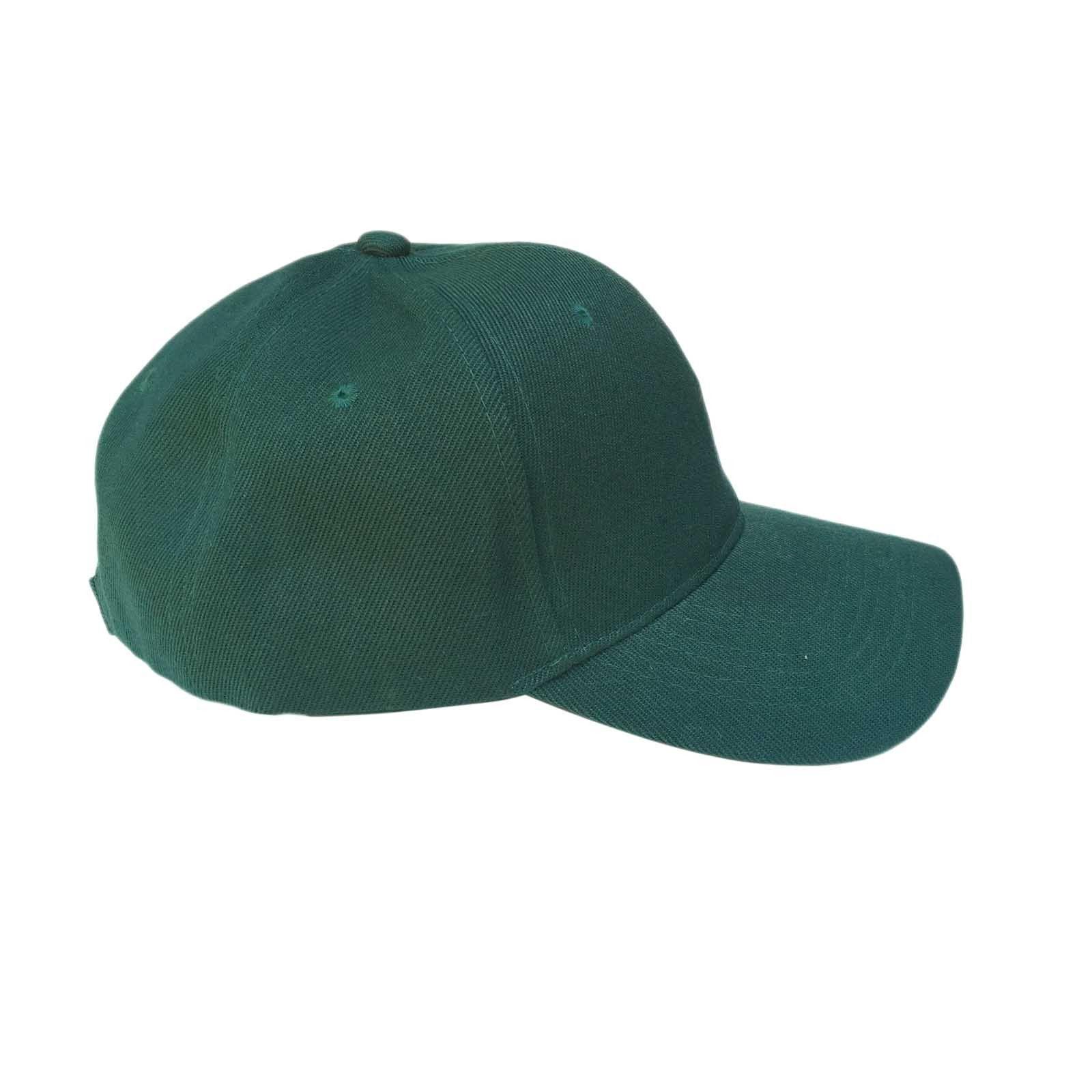 Plain Blank Ball Baseball Adjustable Cap Hat Baseball Caps Hats New 1SZ FIT b199791e2469
