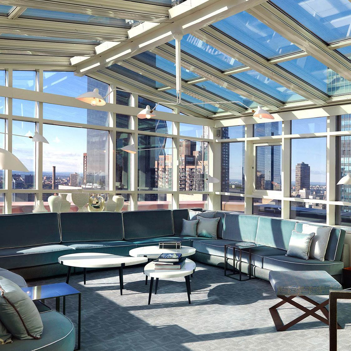 Rooftop Living Room The London Nyc Vossy Com The London