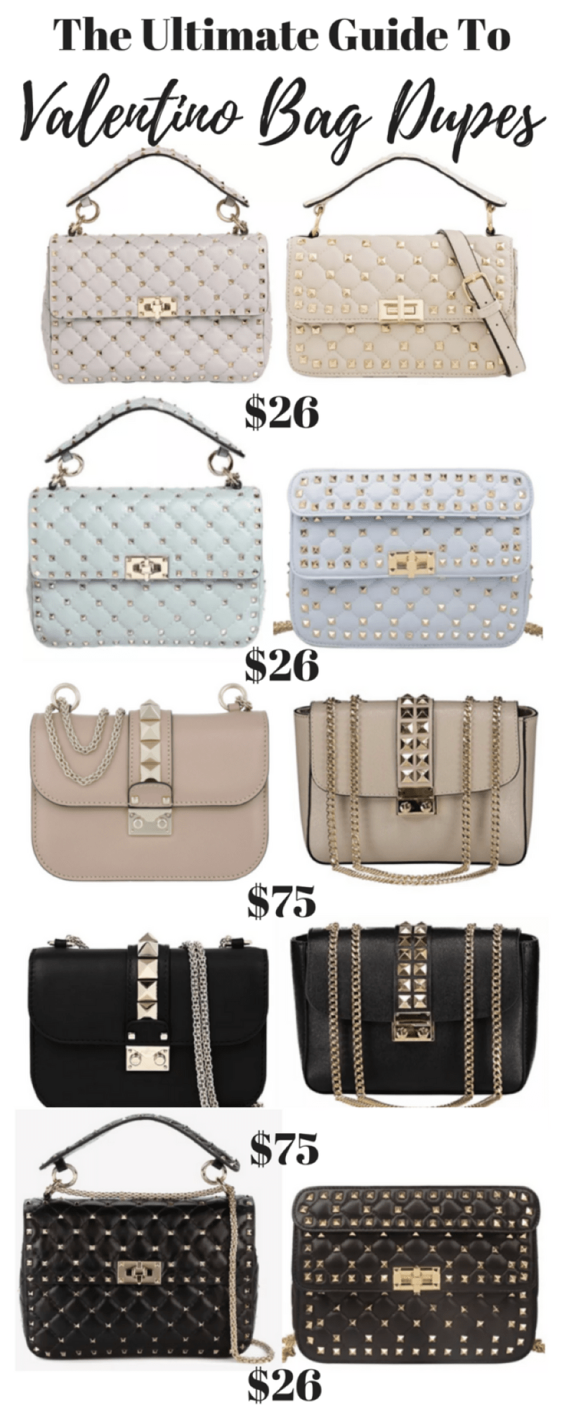 Valentino Bag Dupes This Is Where To Get The Luxury Look