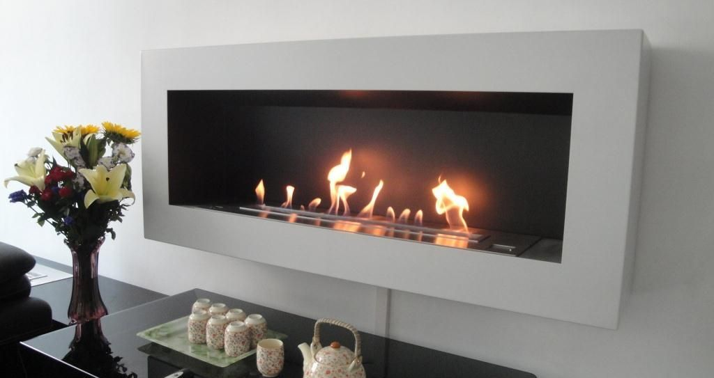 Smart Ethanol Fireplace With Remote Control Safety Detectors