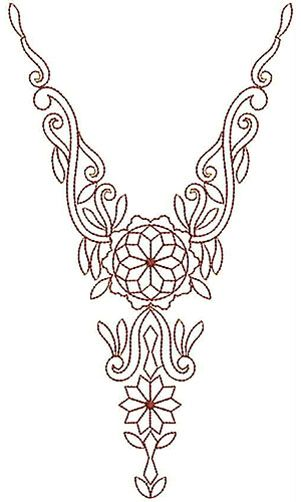 6940 Neck Pinterest Embroidery Patterns And Embroidery