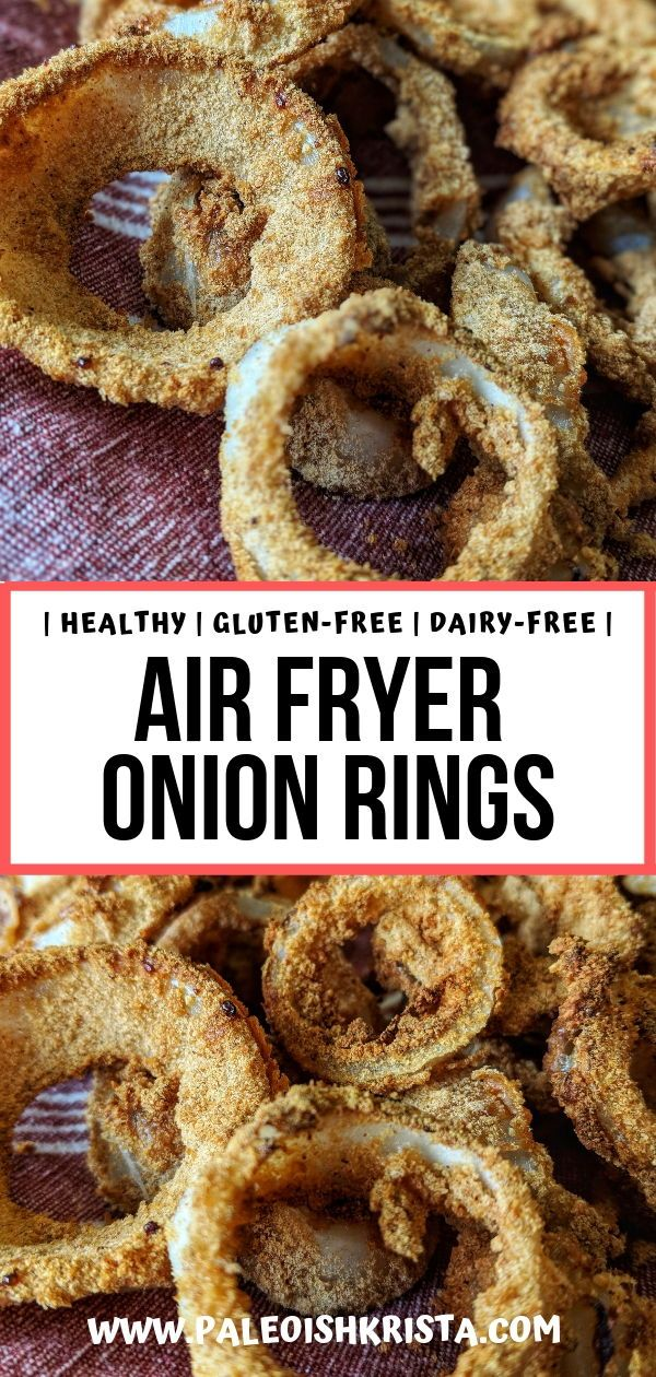 These healthy onion rings are just as delicious as their