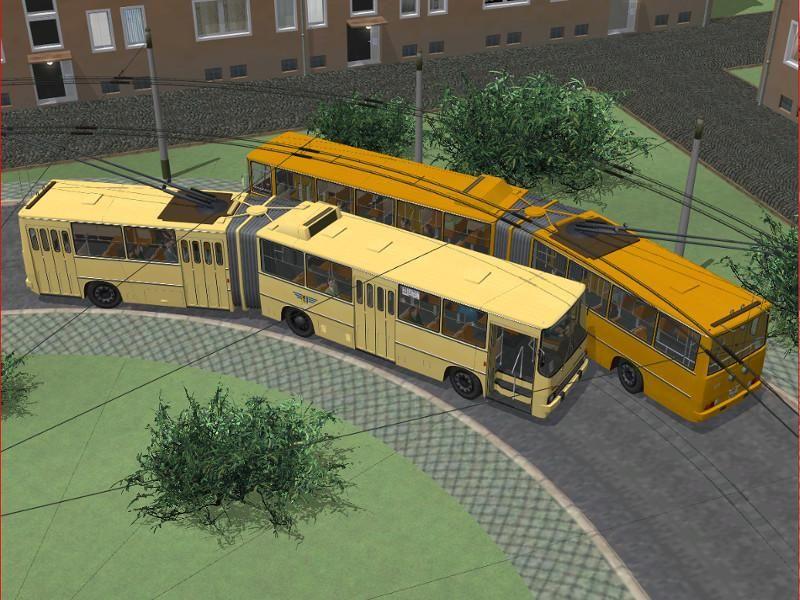 O-Bus Ikarus 280. Ab #EEP8 http://bit.ly/O-Bus-Ikarus-280