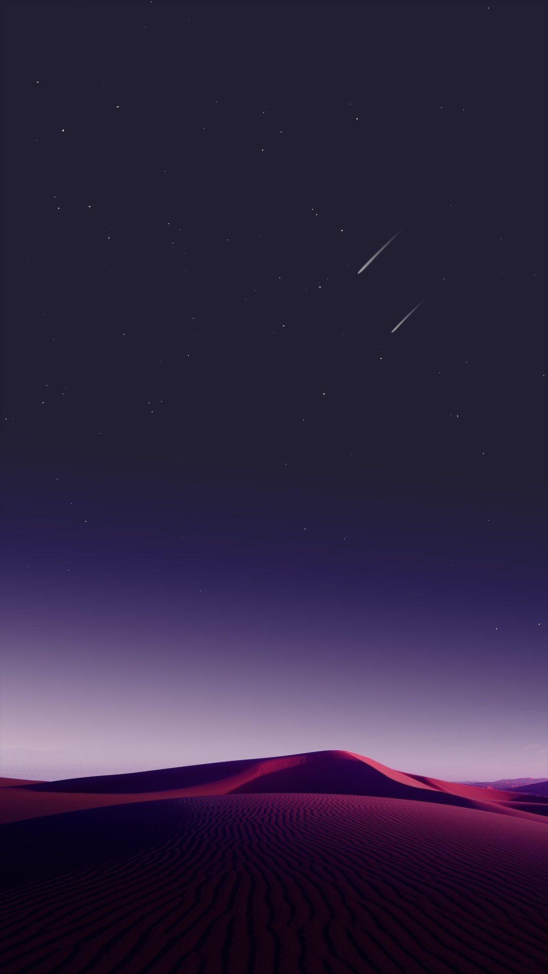 Desert Sky Shooting Stars Iphone Wallpaper In 2020 S8 Wallpaper Smartphone Wallpaper Phone Wallpaper
