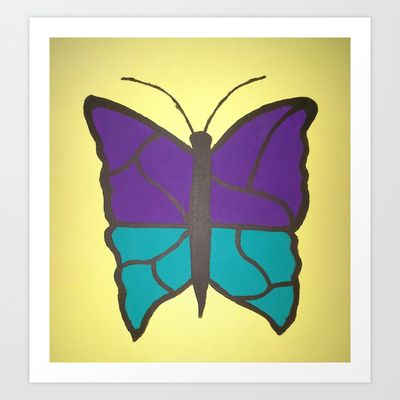 Stained Glass Butterfly by Danielle Gensler