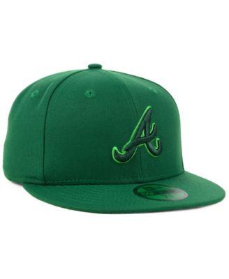 New Era Atlanta Braves Prism Color Pack 59fifty Cap Green 7 1 8 Prism Color New Era Macys Fashion