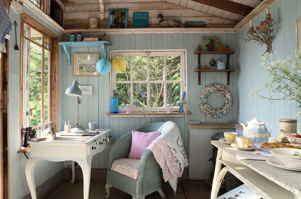 DESDE MY VENTANA: UNA CABAÑA EN LA ISLA DE WIGHT / LITTLE ENGLISH SUMMER COTTAGE