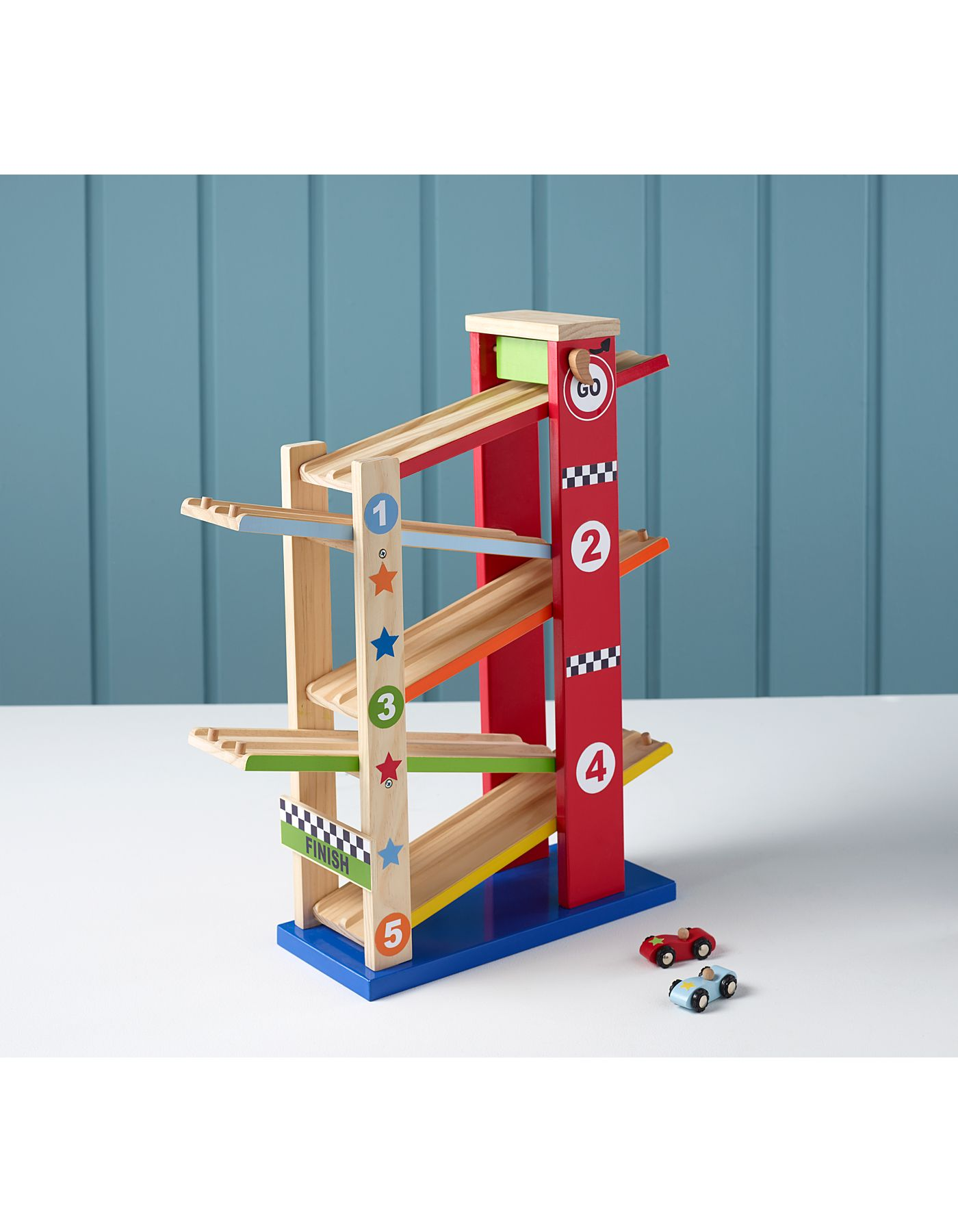 George Home Wooden Ramp Racer | Wooden Toys | ASDA direct ...