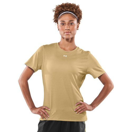 Women S Ua Tech Trade Team T Shirt Tops By Under Armour Extra Small Vegas Gold Under Armour Http Www Amazon Com Dp Team T Shirts Athletic Shirts T Shirt Top
