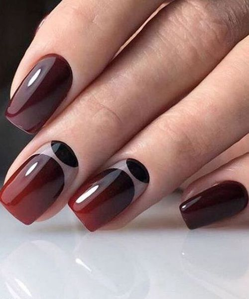 Red Blood Glitter Nail Art Designs 2017 2018 Ombre Nail
