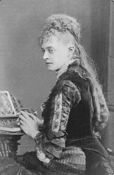 Princess Frederica of Hanover (1848–1926). Nikolaj Konstantinovich had a crush for her in his youth