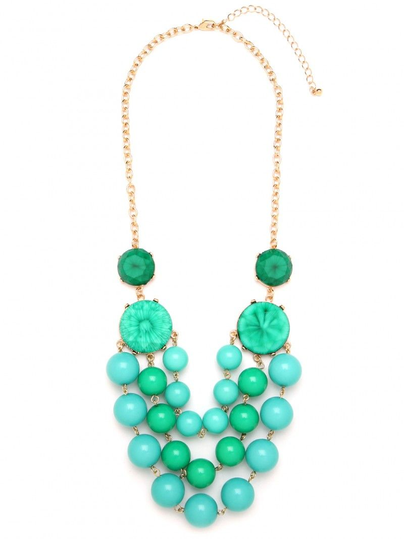 Emerald and Turquoise Beauty