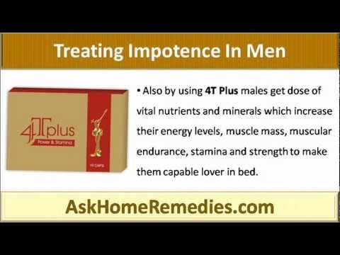 This video describes why 4T Plus Capsule is the right choice for treating impotence in men.
