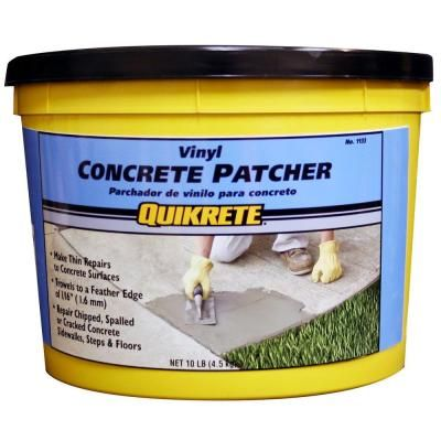 Quikrete 10 Lb Vinyl Concrete Patch Repair 113311 The Home Depot In 2020 Concrete Vinyl Repair Concrete Driveway