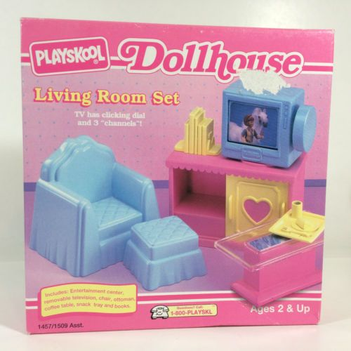 Playskool Dollhouse Collection * Victorian = Living Room Set ...