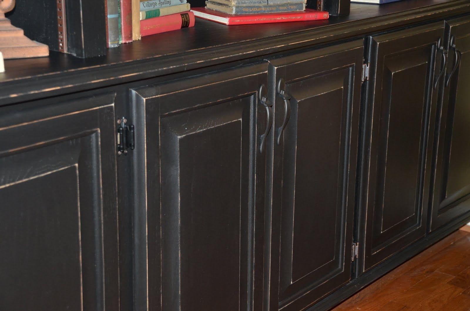 99+ Black Glazed Kitchen Cabinets - Kitchen Design and Layout Ideas ...