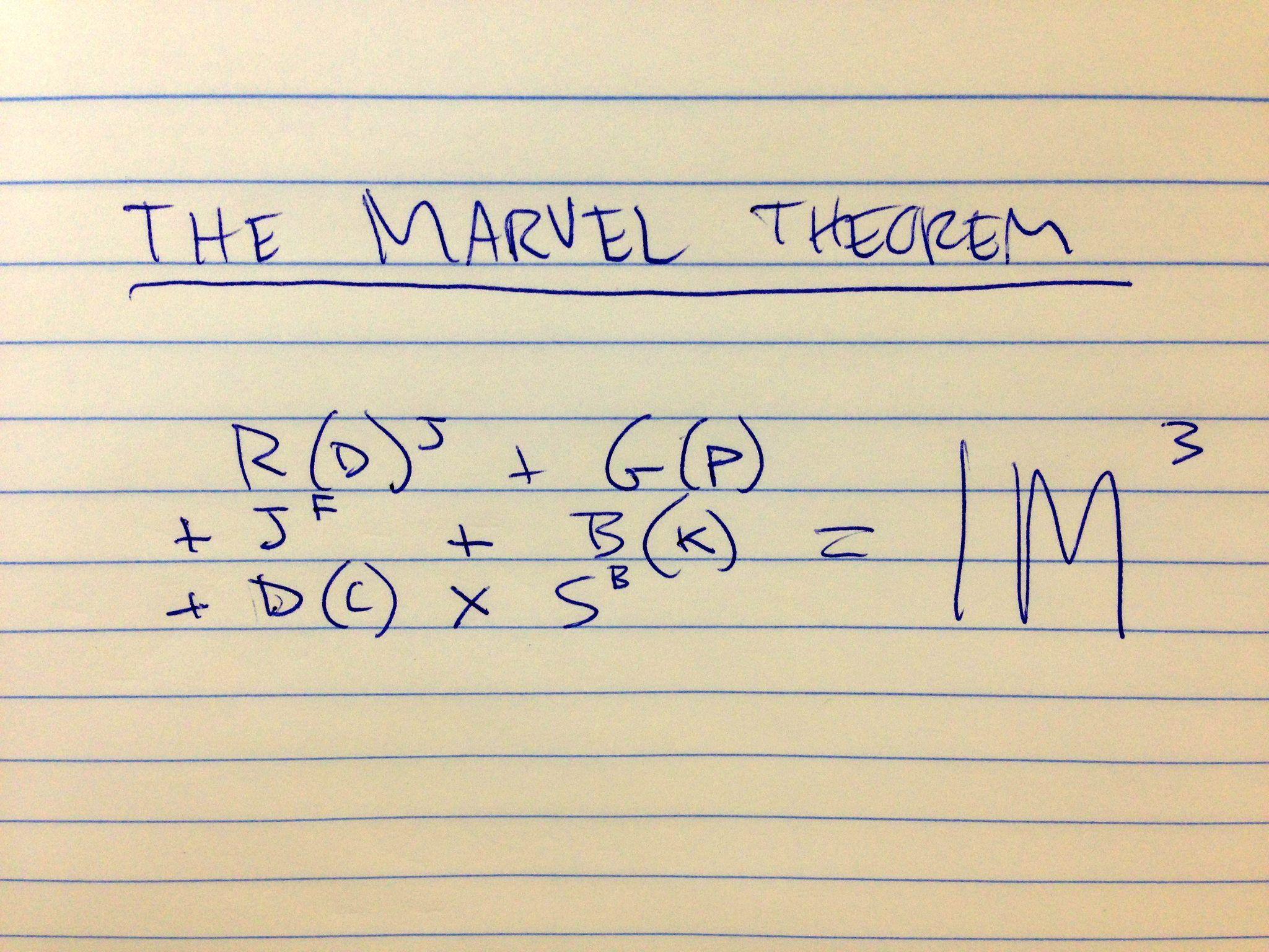 The Marvel Theorem
