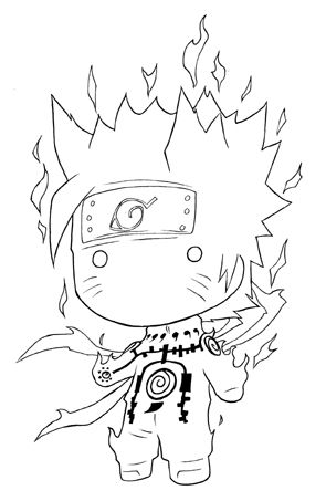Naruto Squad 7 and 10 coloring page | Free Printable Coloring Pages | 453x295