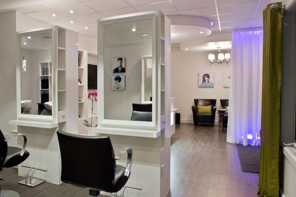 Salon de coiffure mobilier moderne salon de coiffure sièges miroirs