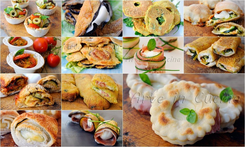 Antipasti sfiziosi per ferragosto ricette semplici | Antipasti ...