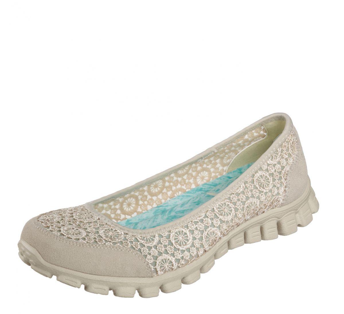 Skechers Memory Foam EZ Flex Flighty Ballet Flats