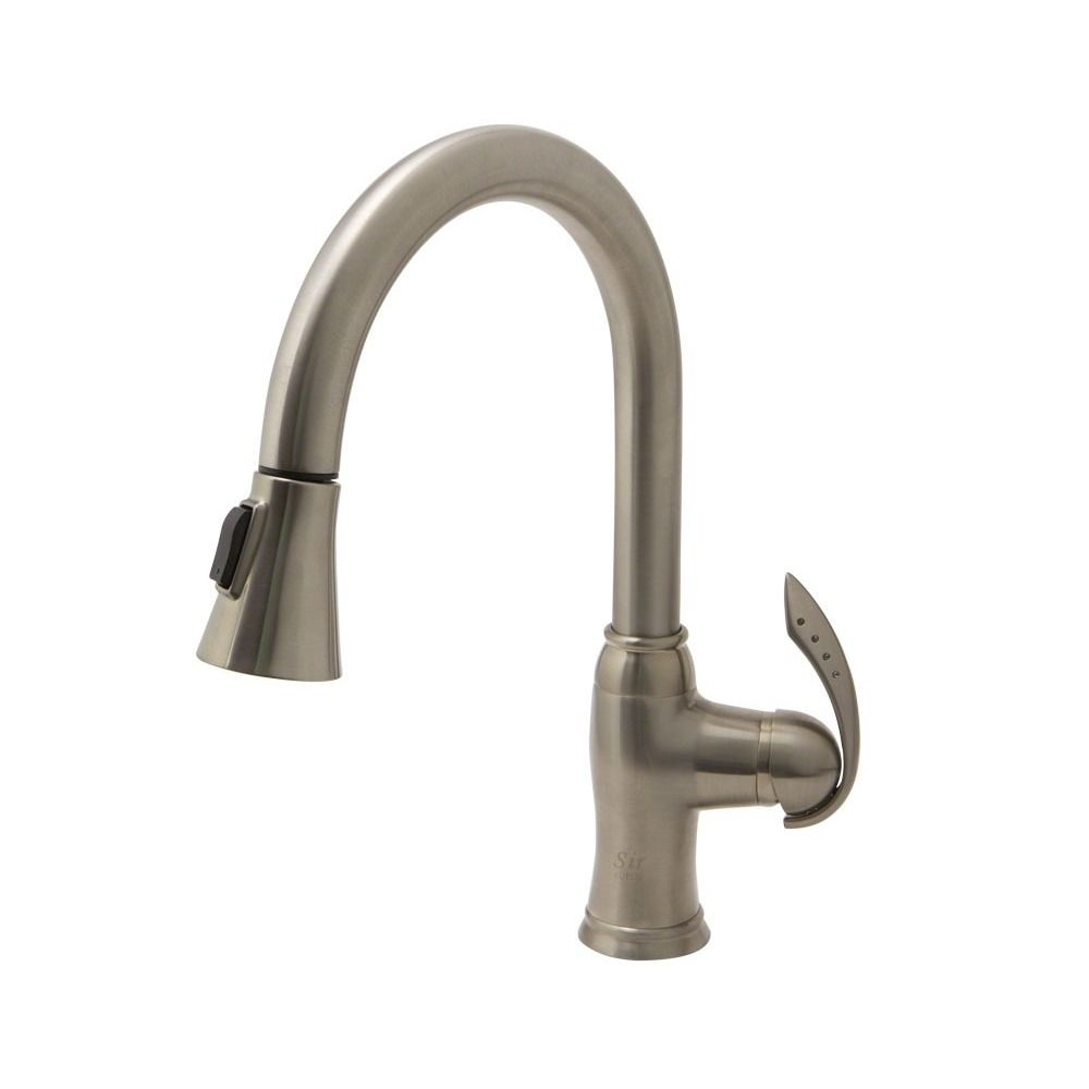 Sir Faucet 772 Single Lever Handle Pulldown Kitchen Faucet Cool Single Handle Kitchen Faucet Review