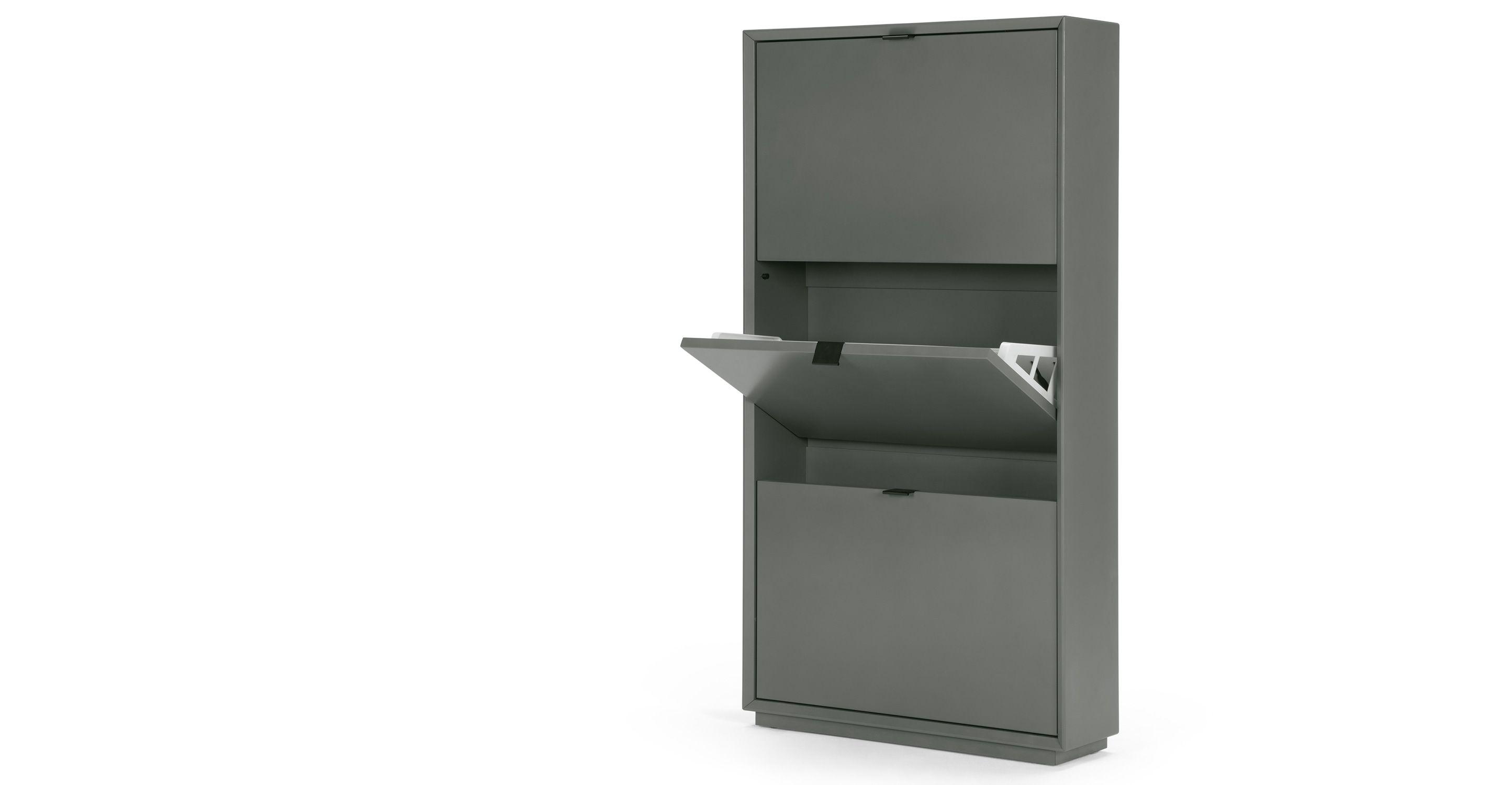 Marcell Shoe Storage Cabinet Grey Shoe Storage Cabinet Shoe