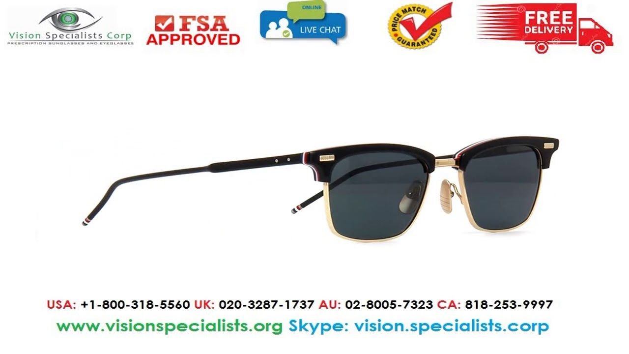 3dc50b0a401 Thom Browne TB 711 A T Sunglasses